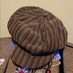 Vintage slouch newsboy cap: perfect for big heads!